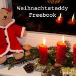 Freebook – Weihnachtsteddy mit Mantel