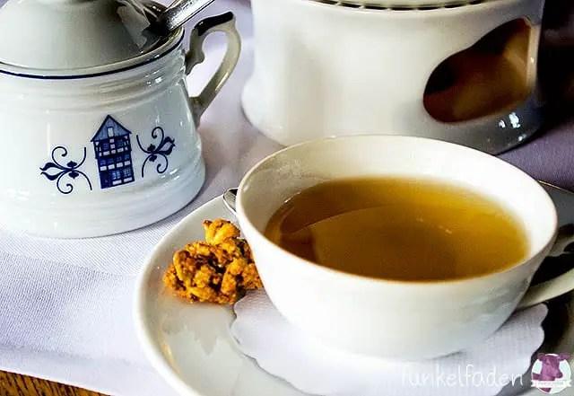 Tee trinken in Bad Essen
