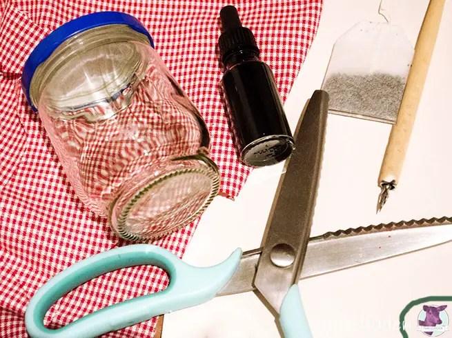 Material für schöne Marmeladengläser