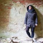 Genäht – Einfache Herbstjacke mit Kapuze