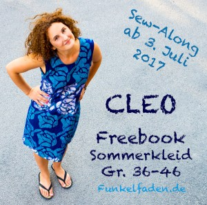Sew-Along - Sommerkleid Cleo Gr. 36-46 als Freebook