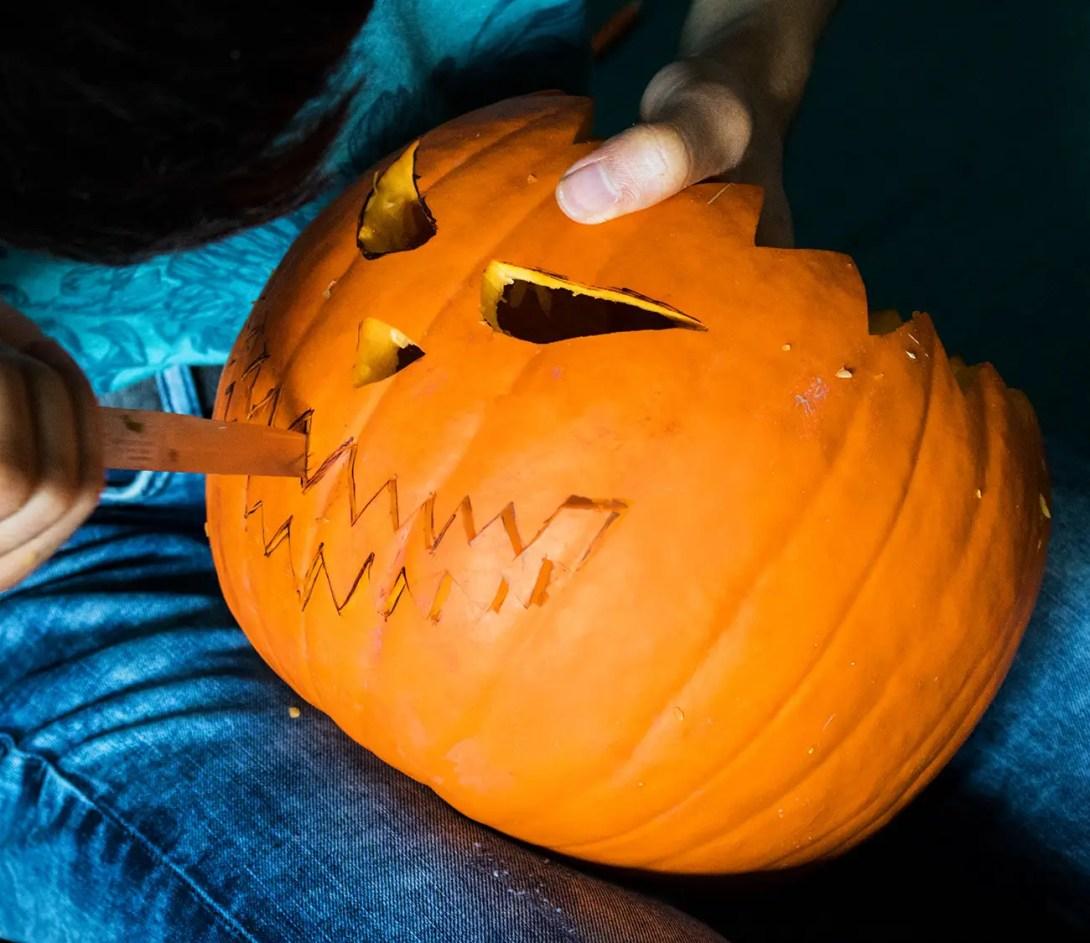 Ungewöhnlich Druckbare Halloween Kürbis Schablonen 2 Bilder ...