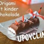 Anzeige – Origami mit kinder Schokolade + Verlosung