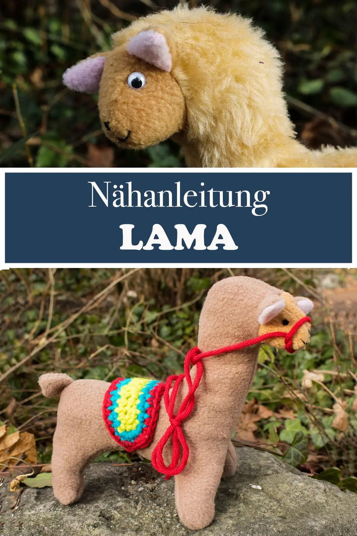 Lama Nähen - Nähanleitung Freebook