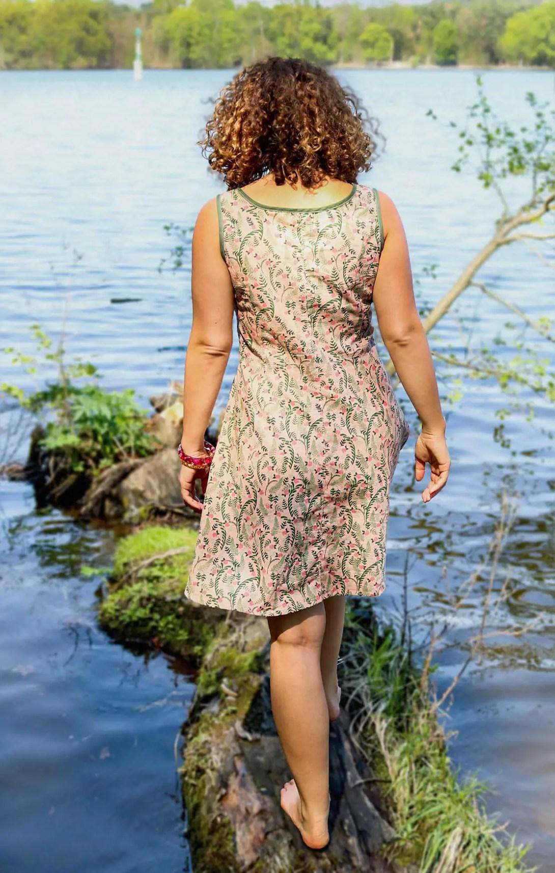 Kleid Tuva nähen von Kreativlabor Berlin