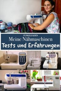Nähmaschinen Tests von Carina Professional, Juki, elna, Veritas und W6 im Vergleich