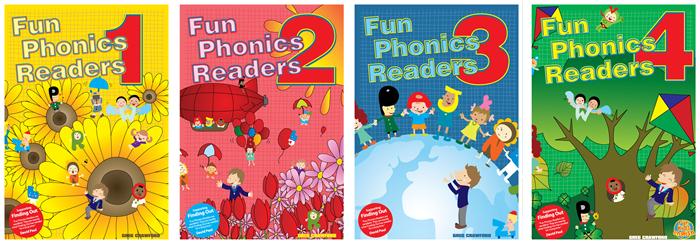 Fun Phonics Readers 1, 2 & 3