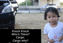 Knock Knock Cargo Joke