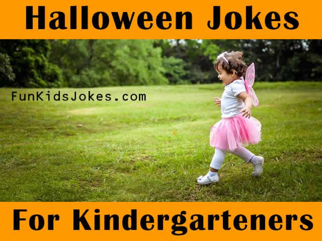 Halloween Jokes for Kindergarteners