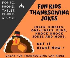 Funny Thanksgiving Jokes Book for Kids