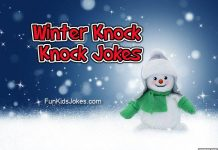Winter Knock Knock Jokes for Kids