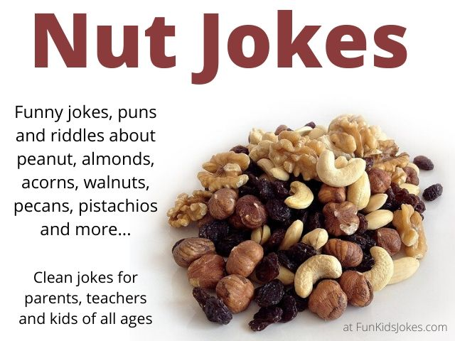 Nut Jokes, Puns and Riddles
