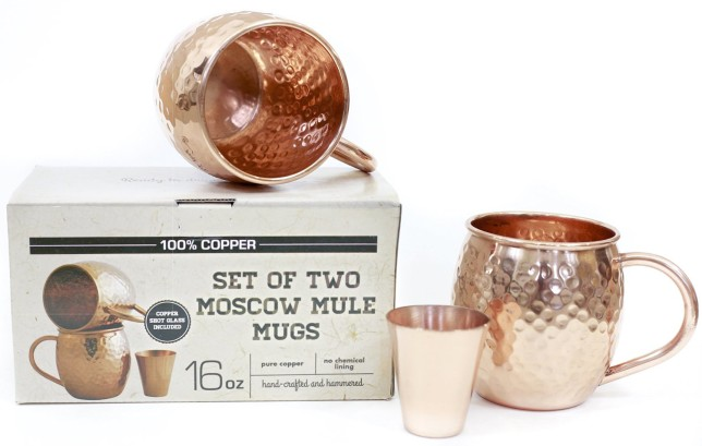 gifts for drinkers - moscow mule mugs