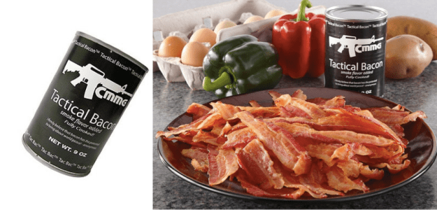 tactical bacon - gifts for outdoorsy types @funkindeepfreeze