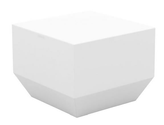 geometric block coffee table