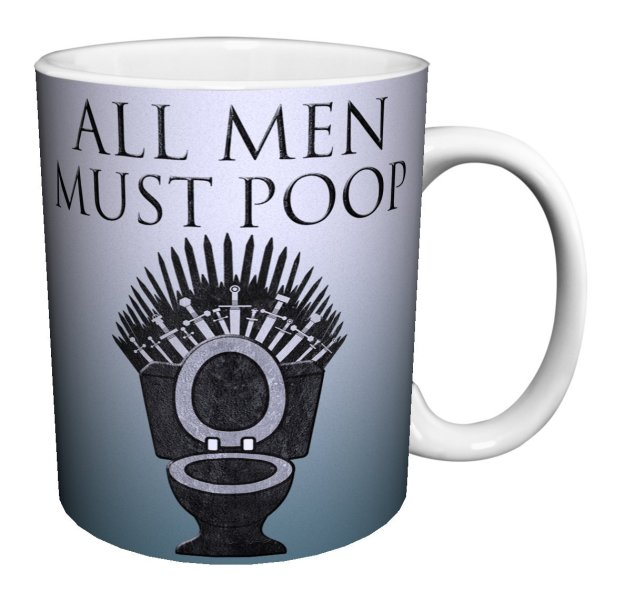 all men must poop