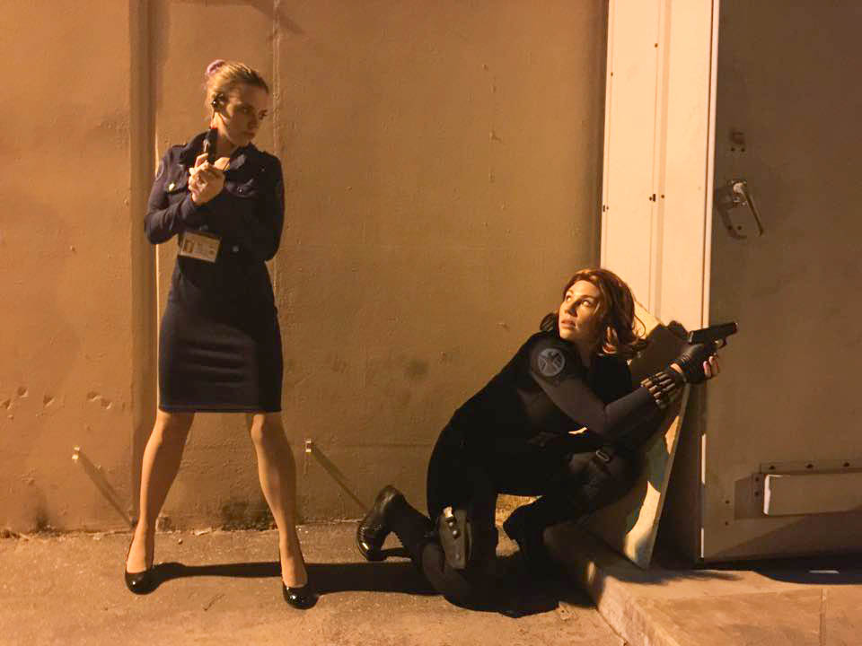 black widow and female shield agent