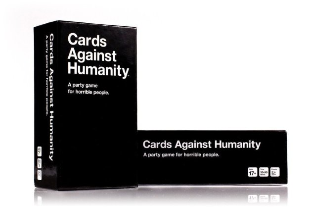 cards against humanity for yankee gift swap