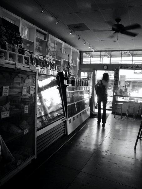 Anthony's coffee shop.