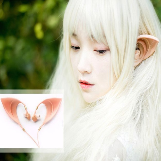 Elf earbuds - white elephant gifts
