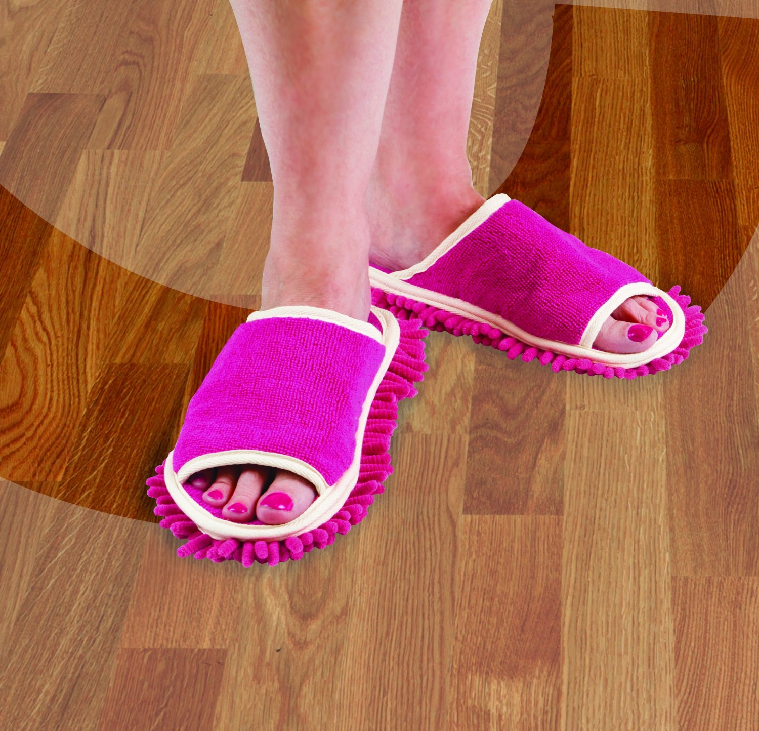 Clean the Floor Slippers