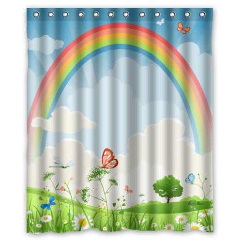 Funky Rainbow Shower Curtains  Funkthishousecom