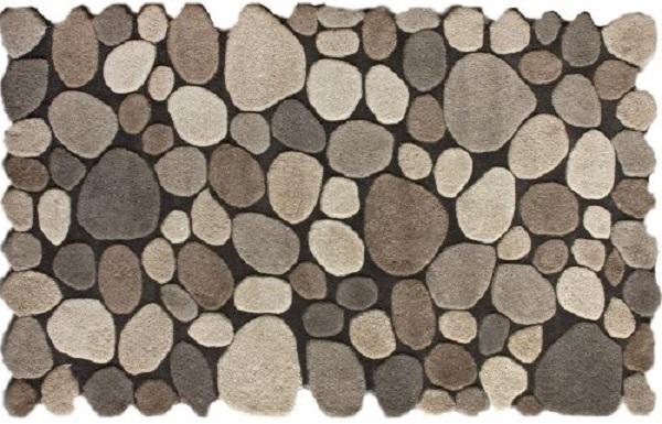 Area Rug that Looks Like Stones