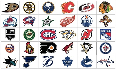 NHL Eastern Conference Wall Decals