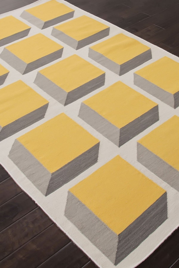 floor mats for kitchen cabinet refinishing funky yellow and blue area rugs - various designs ...