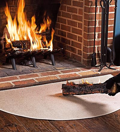 Fireproof Hearth Rugs Don T Burn Down The House