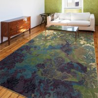 Funky Purple and Green Area Rugs - Various Designs ...