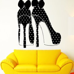 High Heel Shoe Chair Value City Raynor Ergohuman Back Mesh Wall Decals For The Funk 39n Queen In Family