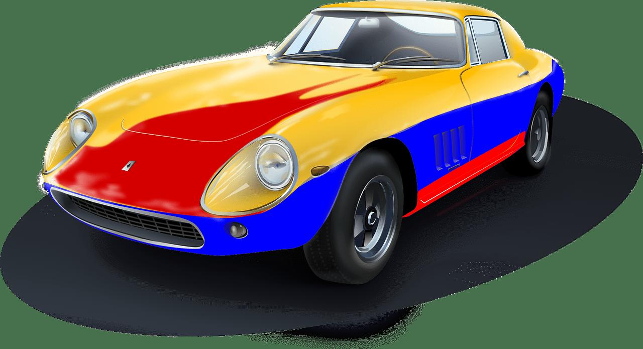 Racing Car Wall Decals