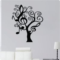Funky Black Tree Wall Decals - Check Out These Creative Decals