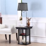 Madison Floor Lamp with Table