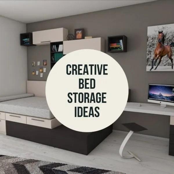 Creative Bed Storage Ideas