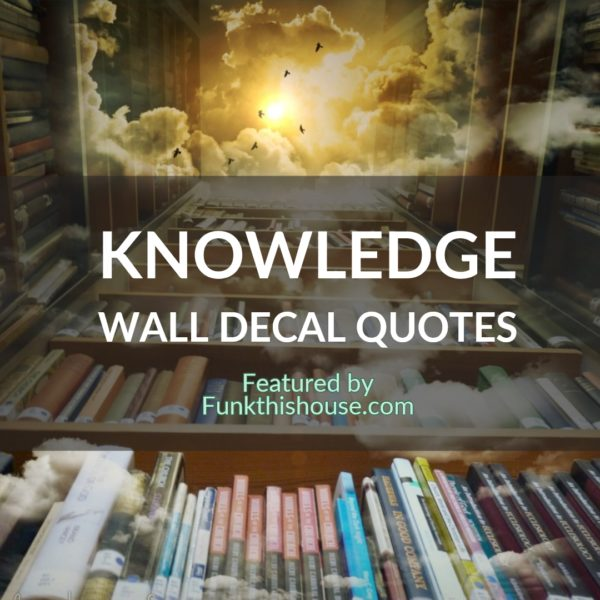 Knowledge Wall Decals