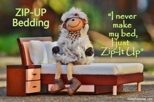 Zip Up Bedding