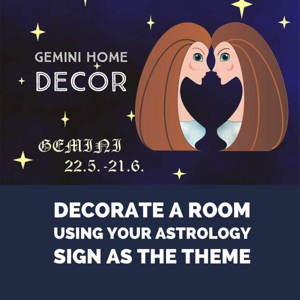 Gemini Home Decor Items