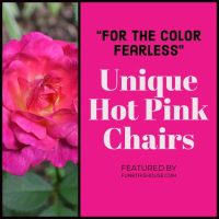 Funky Hot Pink Chairs - Various Unique Design Styles