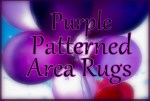 Purple Patterned Area Rugs