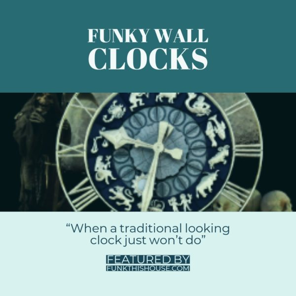 Funky Wall Clocks