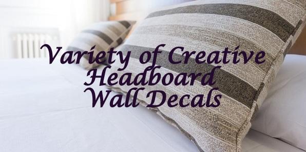 Headboard Wall Decals