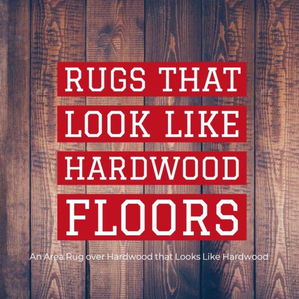 Rugs that Look like Wood
