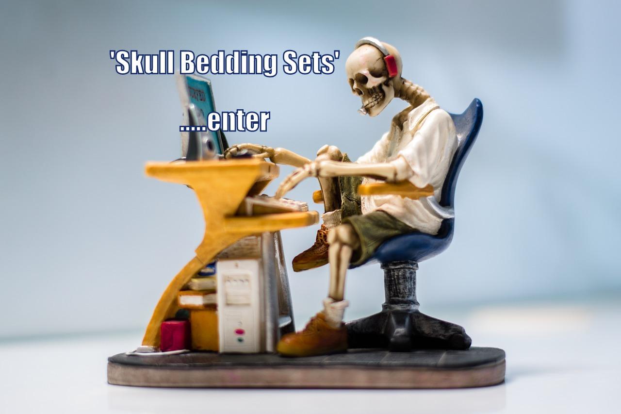 Shopping for Skull Bedding Sets