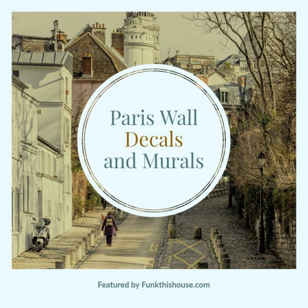 Paris Wall Decals and Murals
