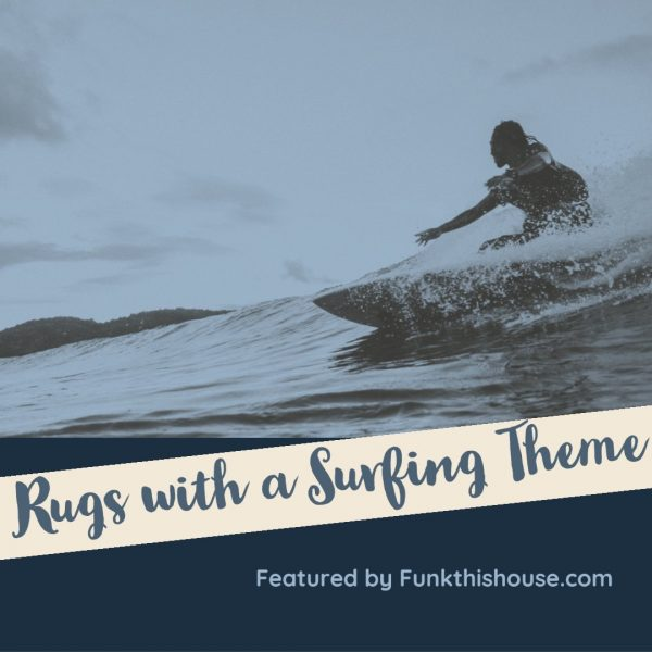 Surfer Themed Area Rugs