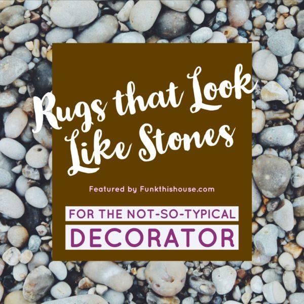 Rugs that look like stones