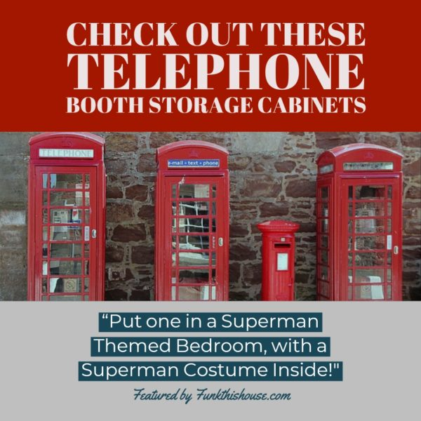 Telephone Booth Storage Cabinets