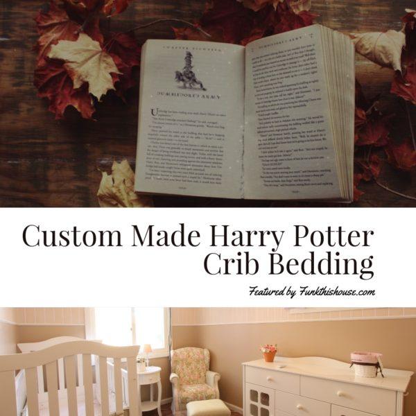 Custom Made Harry Potter Crib Sets